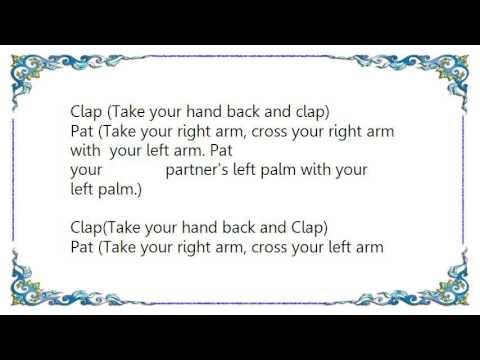 Gary Glitter - The Clapping Song Clap Pat Clap Slap Lyrics
