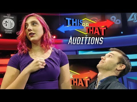 This or That Auditions