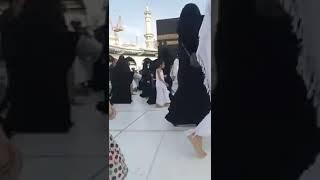 Horain And Hina Performing Tawaf e Kaaba