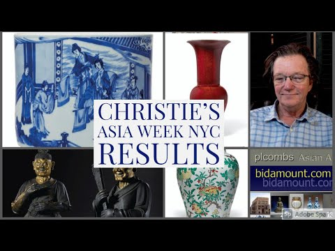 Christie's Asia Week NY September 2021 Auction Results