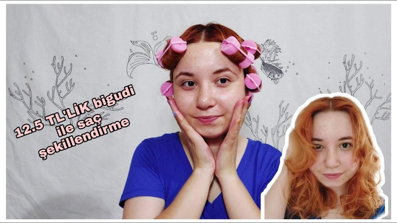 Sünger Bigudi ile Saç Nasıl Sarılır? / Isısız Saç Şekillendirme