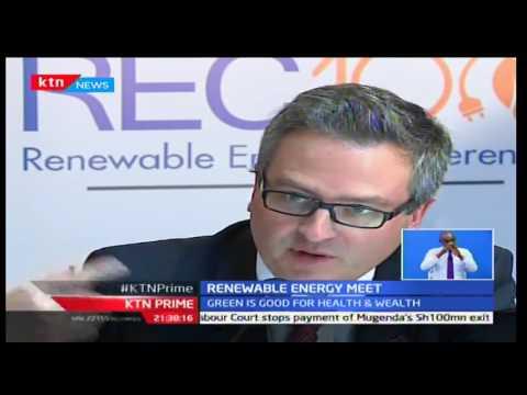 KTN Business: Renewable Energy meet focus on getting more environmentally friendly energy, 6/10/16