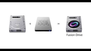 How to create Fusion Drive from SSD and HDD on Mac