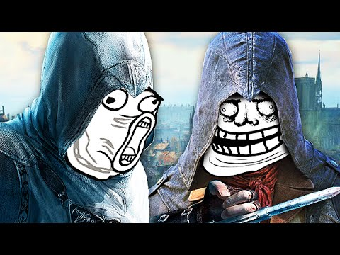 Assassin's Creed Unity FUNNY MOMENTS 3! (Hilarious ...