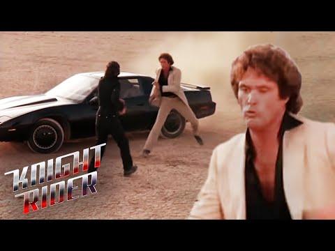 Michael & KITT VS Garthe & Goliath | Knight Rider
