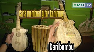 Download lagu Cara membuat gitar dari bambu