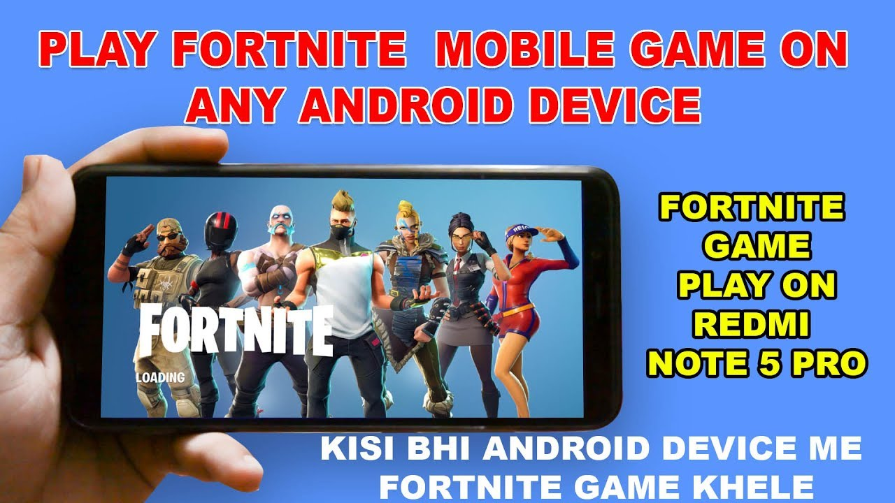 How to Play Fortnite Mobile on Any Android Device - Without Root - Play  Fortnite Game on Any Device
