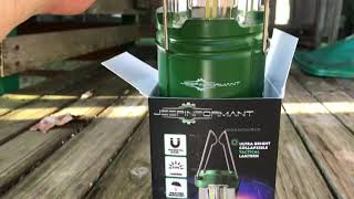 Rescue Green JeepInformant Camping/Emergency Lantern review