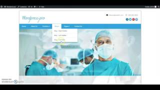HealthCentre HomePage Template Setup - 02 Services Setup