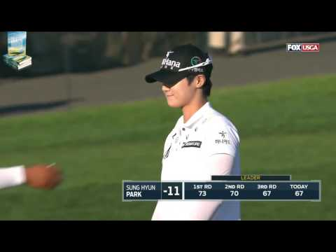 Champion Sung Hyun Park's Great Golf Shots 2017 US Women's Open USGA LPGA