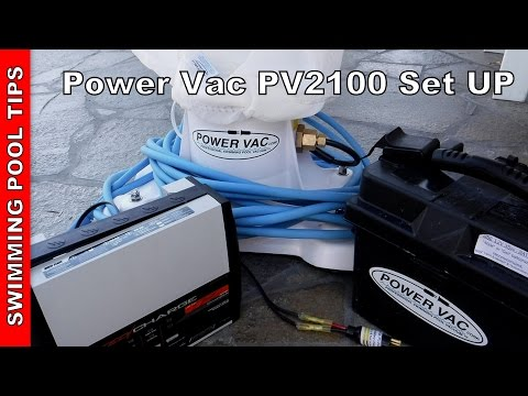Power Vac PV2100 Set Up and Walk–Through