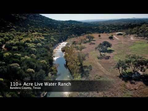 110 Acre Live Water Ranch in Bandera County, Texas