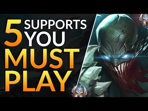 Top 5 BROKEN Supports You MUST Main In 9.14 - Tier List To CLIMB Fast - League Of Legends Guide