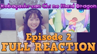 Kobayashi-san Chi no Maid Dragon Episode 2 LIVE REACTION!!