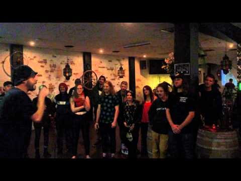 CASH KRZMA - Acapella (Live @ Luxor Bar, Melbourne - 11/04/15)