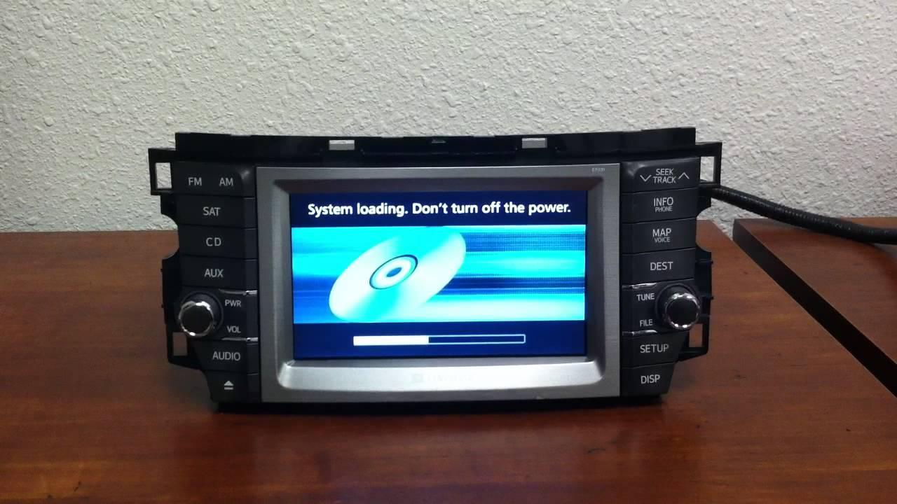 2011 2012 toyota avalon oem gps navigation system 4 disc cd rh youtube com 2013 Toyota Avalon Navigation Update Toyota Avalon Navigation Update