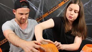 Australians Carve Jack-O