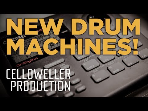 Celldweller Productions: New Drum Machines