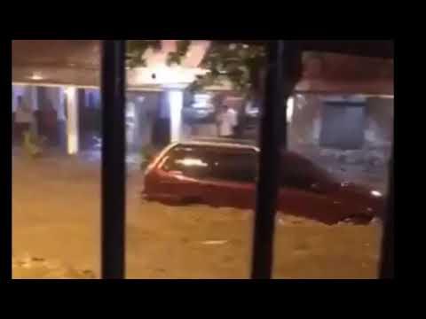 Violento temporal en Río de Janeiro: la zona turística