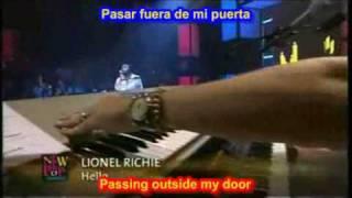 Lionel Richie - Hello  (SUBTITULADO ESPAÑOL   -  INGLES )