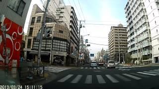 江東区木場→319号線(三つ目通り)→墨田区石原