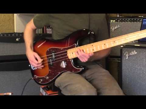 McGuire Music Demos the Fender American Standard Precision Bass