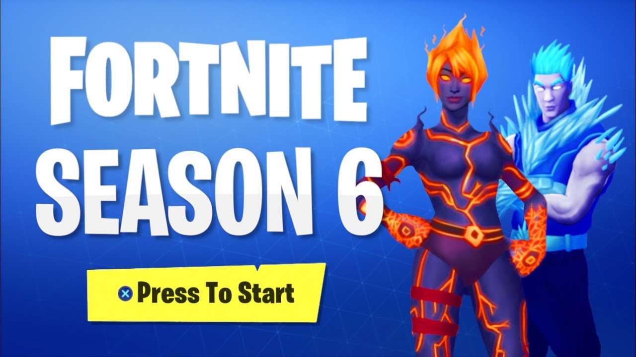 New Fortnite Season 6 Skins Leaked Season 6 Battle Pass Rewards