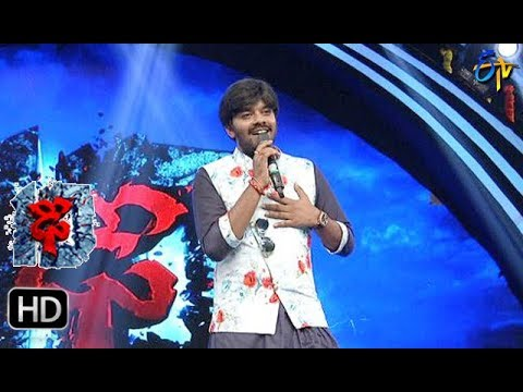 Adiga Adiga Song | Sudigaali Sudheer Performance | Dhee 10 | 18th October 2017 | ETV Telugu