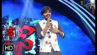 Adiga Adiga Song | Sudigaali Sudheer Performance | Dhee 10 | 18th October 2017 | ETV Telugu