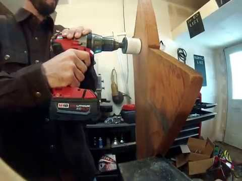 Bi-Metal Hole Saw Drilling Wood