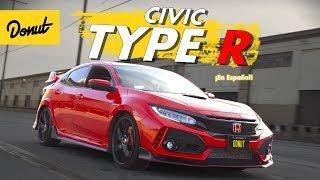 Honda Civic Type R - El Hatchback Más Rápido del Mundo