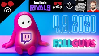 "Twitch Rivals ve Fall Guys (4.9.2020) @Agraelus @FlyGunCZ @Nikolai ""Mazarini"" Lazarev @CzechCloud"