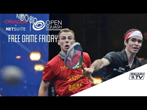 Squash: Free Game Friday - Matthew v Elias - Oracle NetSuite Open 2017