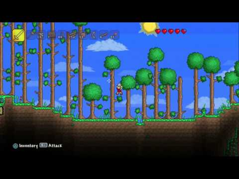 Let's Play Terraria on Console Ep 6 - In The Ocean There Was A...