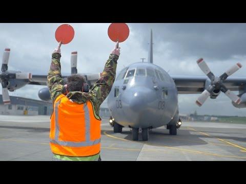 RNZAF Hercules Celebrates 50 Years Milestone