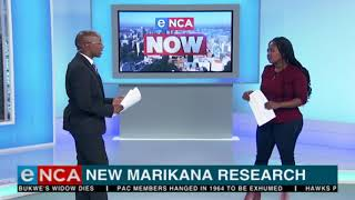 New Marikana research