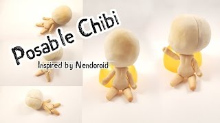 Nendoroid Inspired Posable Chibi from Scratch - Part 1 - The Body with Movable Joints