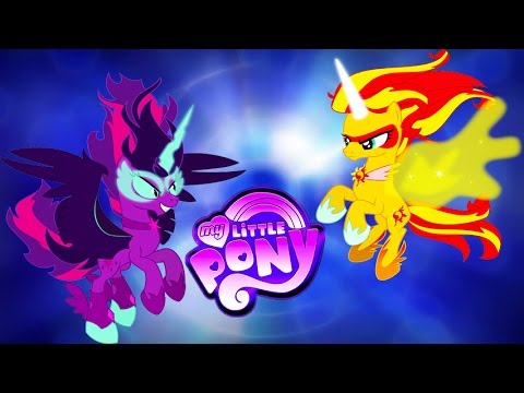My Little Pony Transforms - Daydream (Sunset) Shimmer Midnight (Twilight)  Sparkle - Videos For Kids - YouTube
