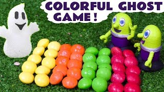 Learn Colors With Colorful Candy Game - Ghostly Learning Story With Funny Funlings Tt4u