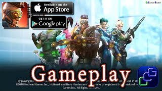 Hero Hunters Android iOS Gameplay - District 1: The Square