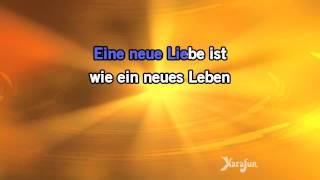 Karaoke Eine neue Liebe ist wie ein neues Leben - Jürgen Marcus *