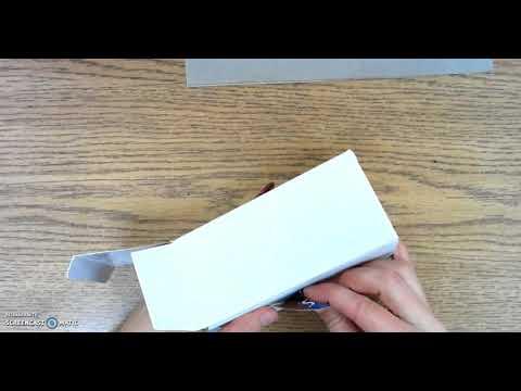 Cardboard 101: Adding a Brass Fastener