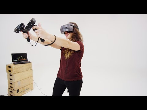 Windows Mixed Reality: Motion Controller Tracking