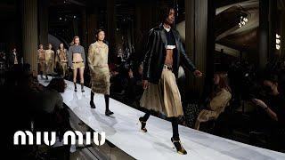 Miu Miu Spring/Summer 2022 Fashion Show: Basic Instincts