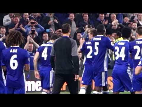 Final whistle, fireworks, lap of honour - Antonio Conte King of Stamford Bridge