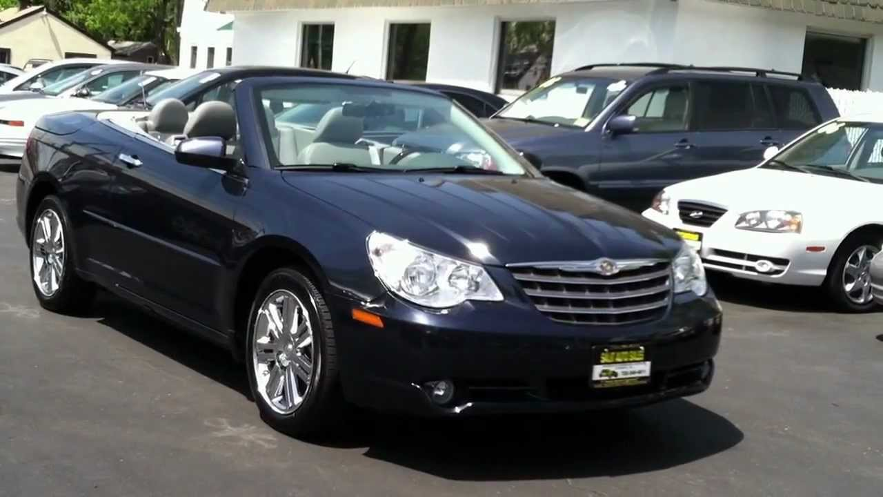 2008 Chrysler Sebring Limited Convertible In Edison Nj 08817 Mov You
