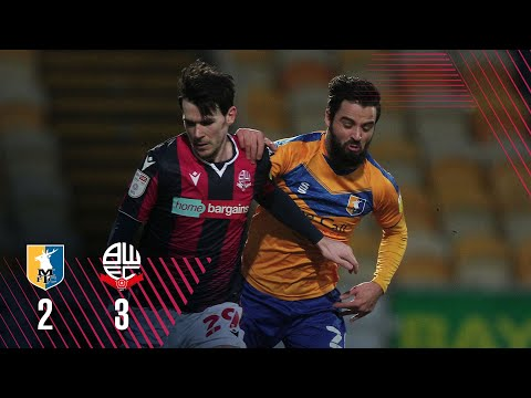 Mansfield Bolton Goals And Highlights