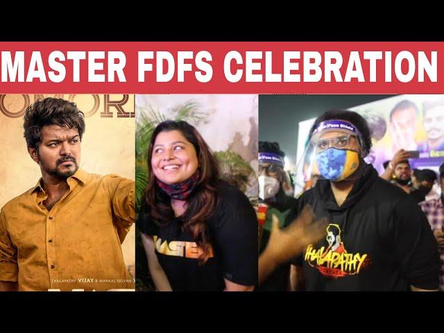 Master Celebration in Theatre   Master release   Vijay   Lokesh Kanagaraj   Fans