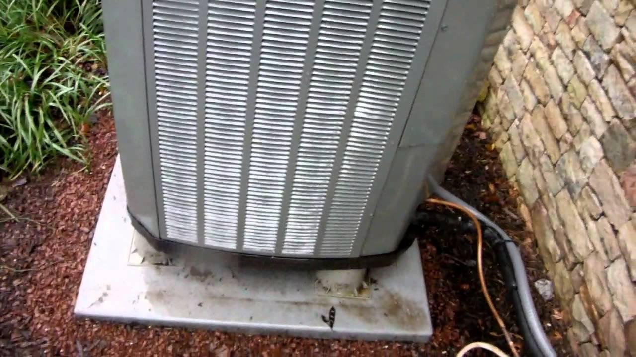 Trane Xl15i And Xl20i Heat Pumps Running In Heat Mode