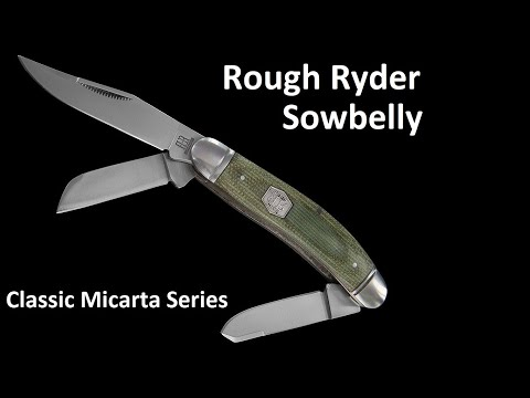 ROUGH RYDER CLASSIC MICARTA SOWBELLY